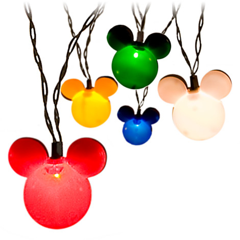 mickey mouse christmas lights outdoor photo - 1