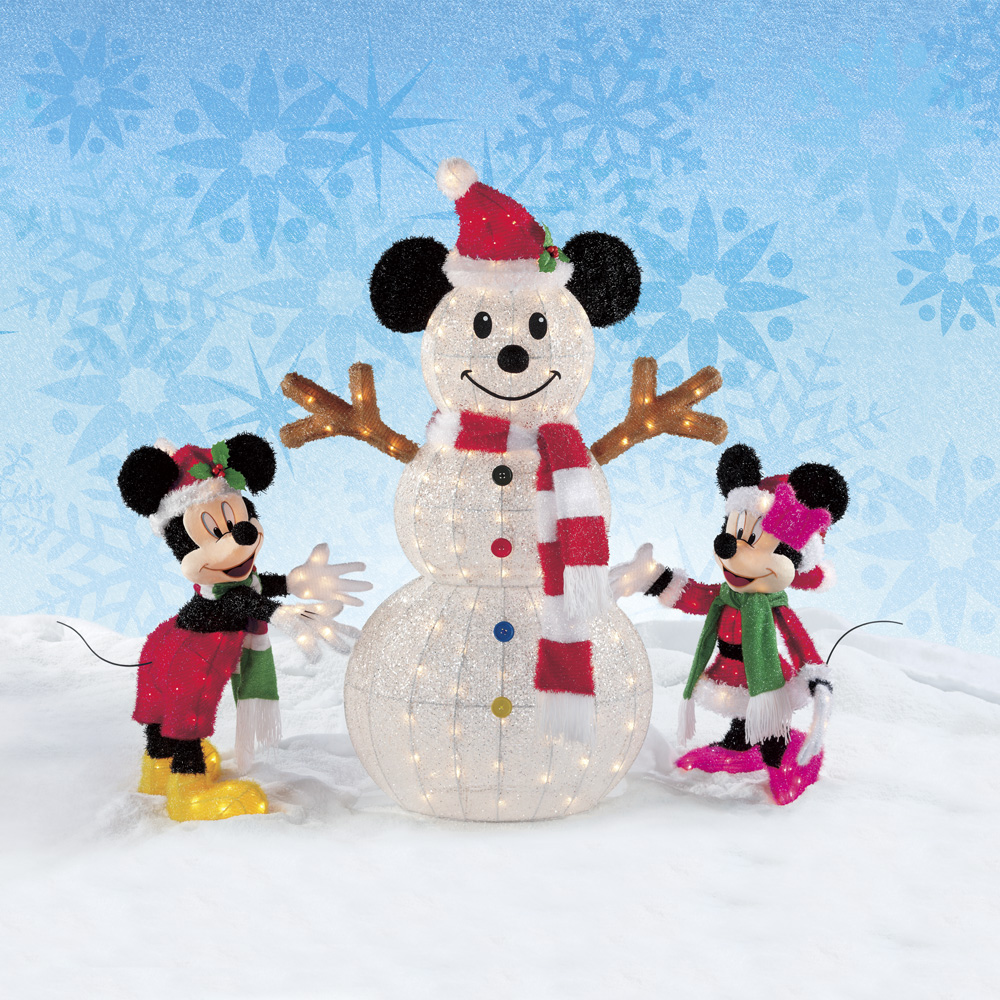 mickey mouse christmas lights outdoor photo - 8