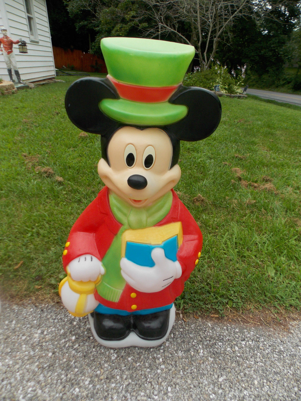 mickey mouse christmas lights outdoor photo - 9