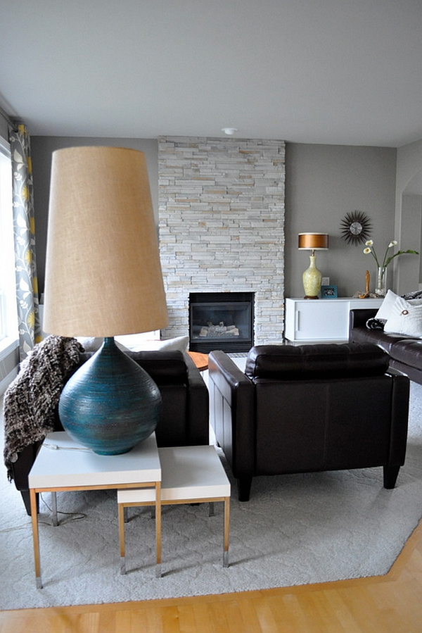 mid century floor lamps photo - 3
