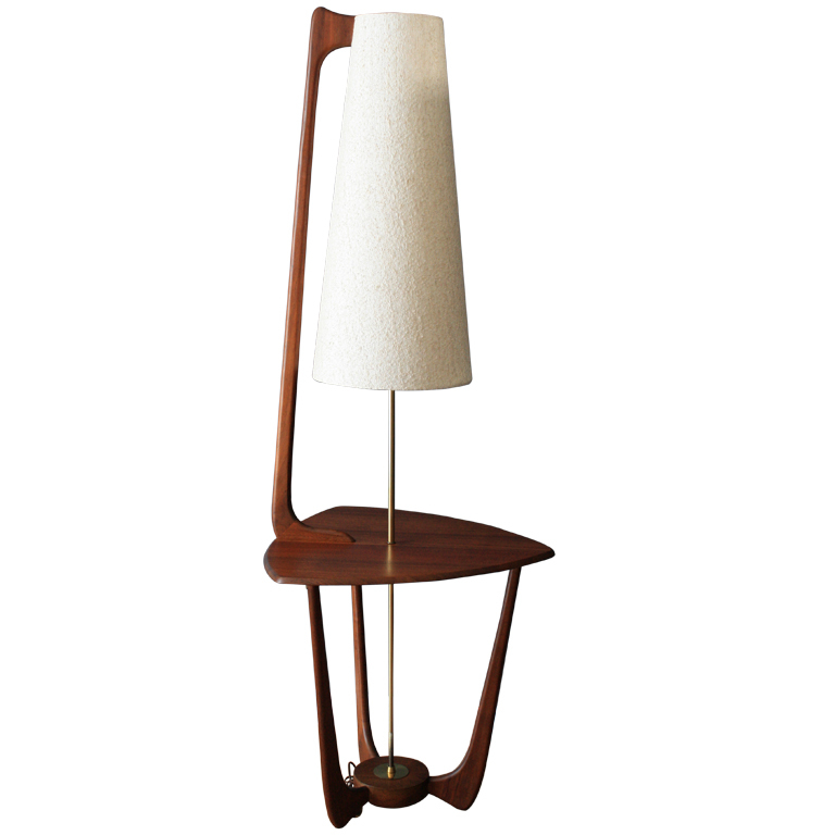 mid century modern floor lamps photo - 1