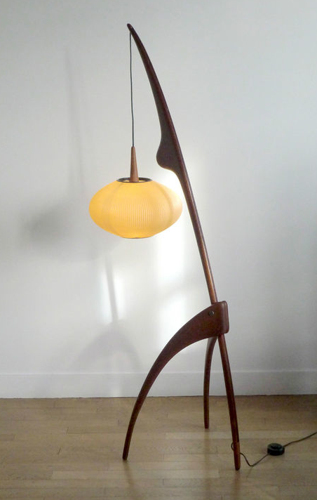 mid century modern floor lamps photo - 6