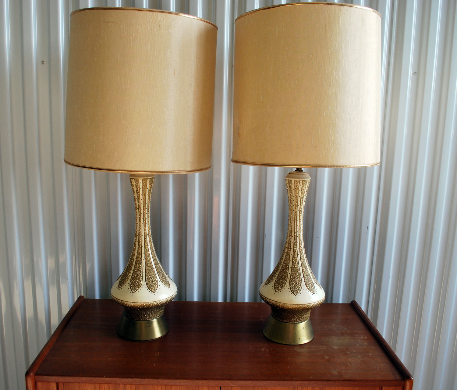mid century modern lamps photo - 3