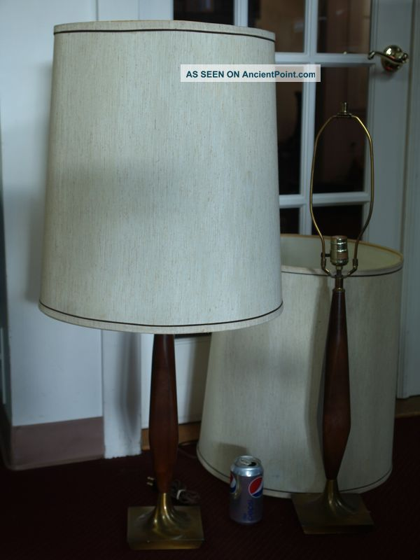 mid century modern lamps photo - 9
