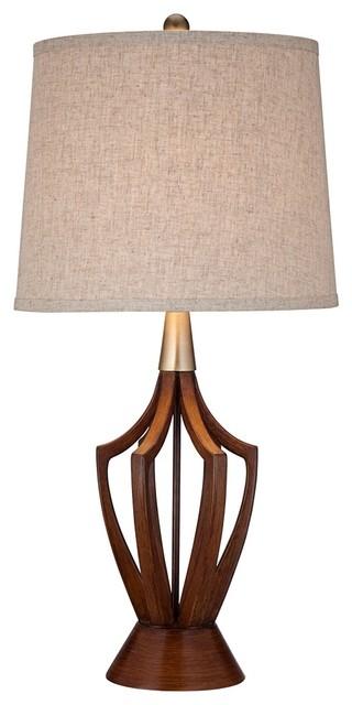 mid century modern table lamp photo - 3