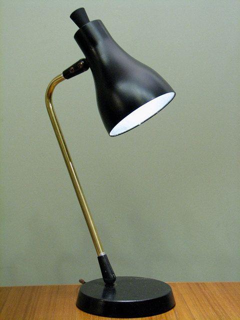 mid century modern table lamps photo - 3