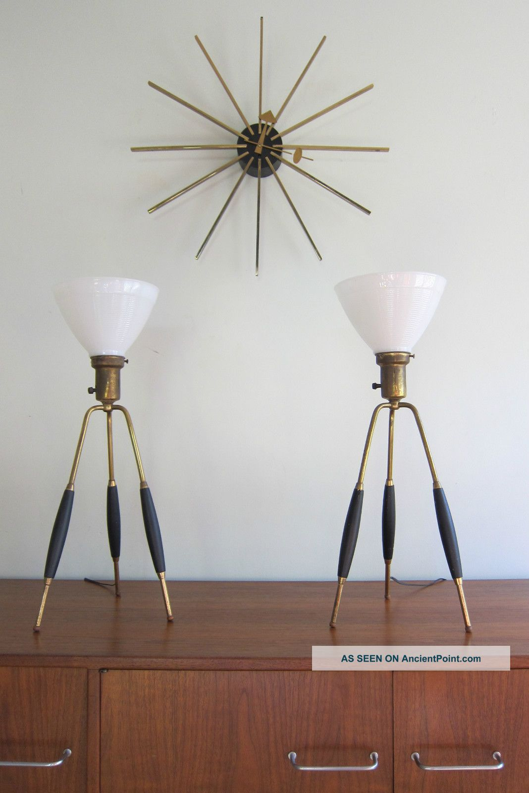 Mid Century Modern Table Lamps Warisan Lighting