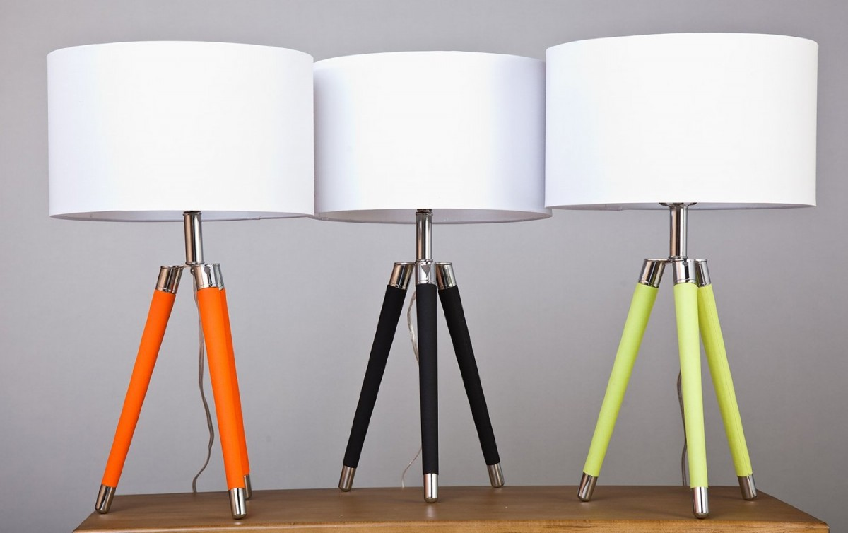 mid century modern table lamps photo - 7