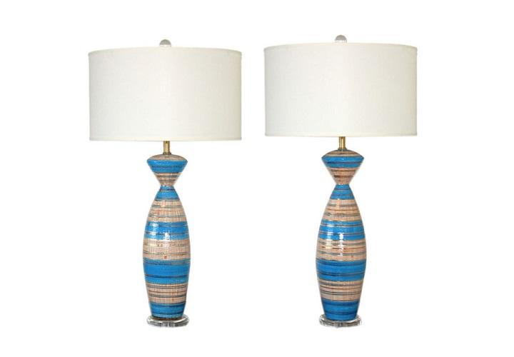 mid century modern table lamps photo - 9