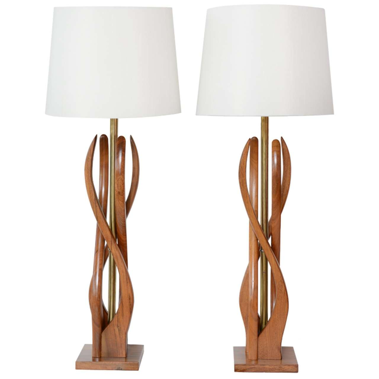 mid century table lamps photo - 9