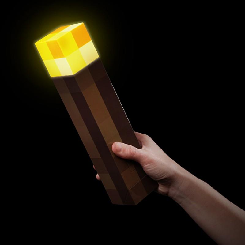 minecraft light up wall torch photo - 3