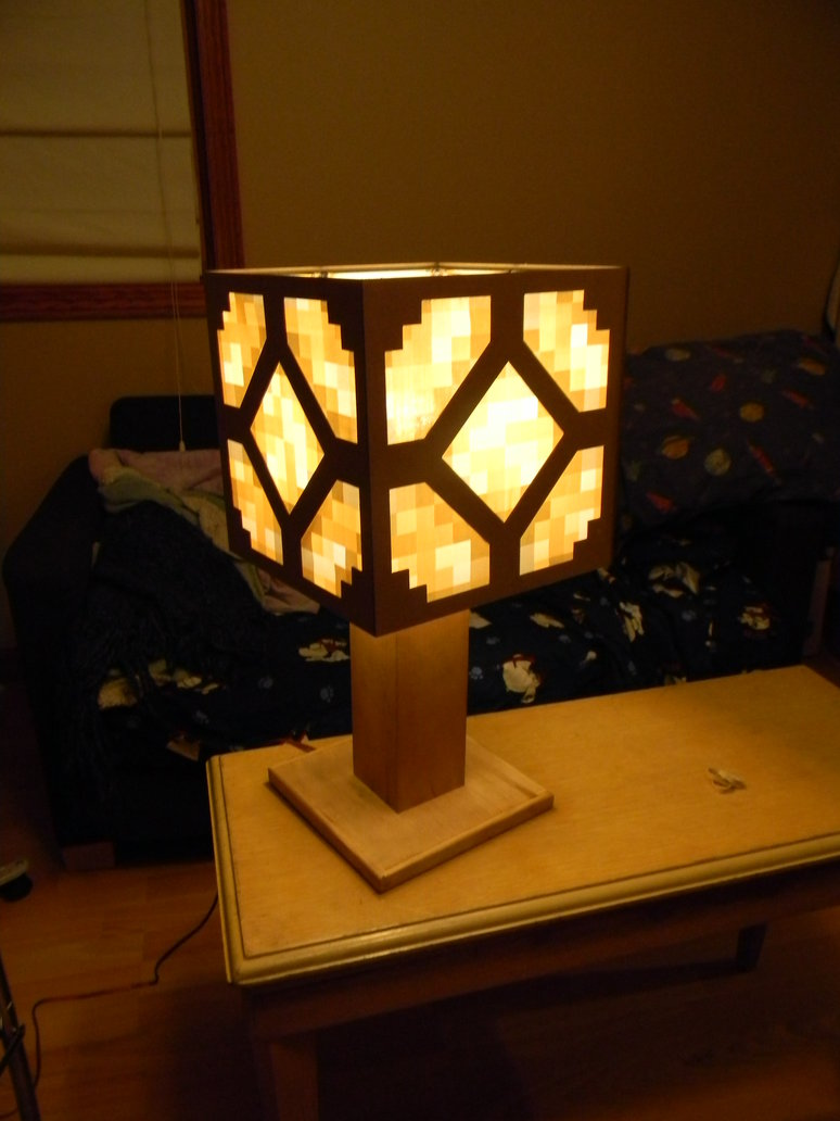 minecraft redstone lamp photo - 6