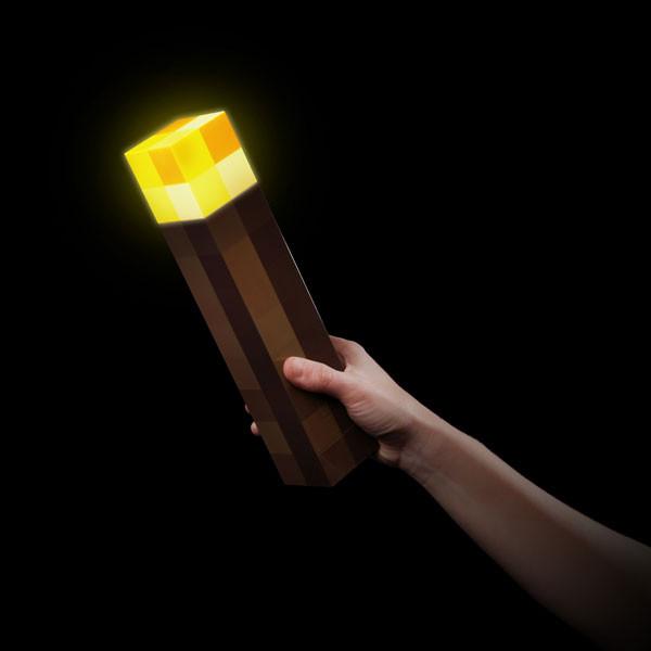 minecraft torch wall light photo - 10