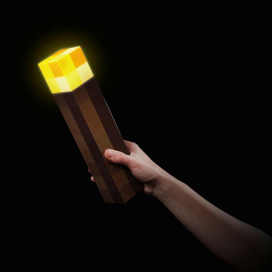 minecraft torch wall light photo - 7