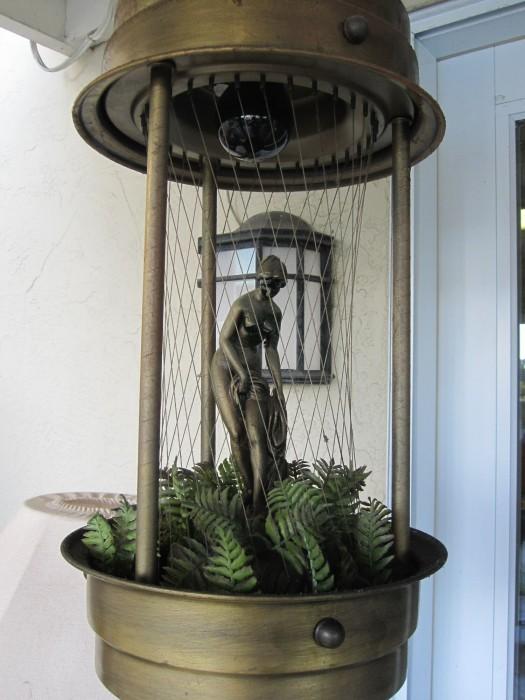 mineral oil rain lamp photo - 3