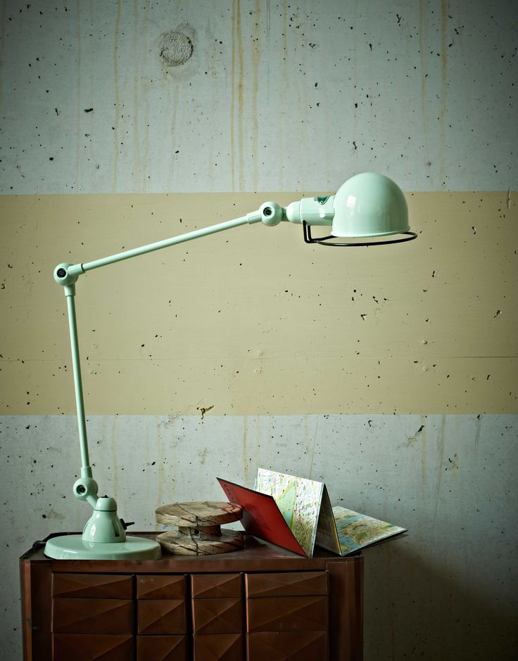 mint green lamp photo - 5