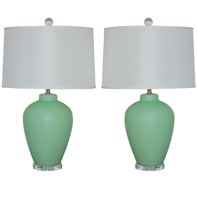 mint lamp photo - 1