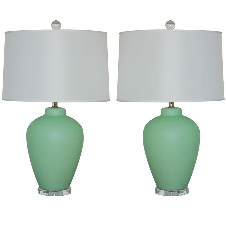 mint lamp photo - 1