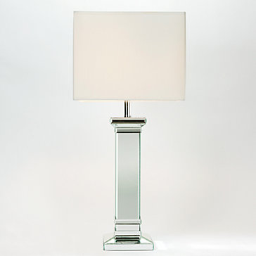mirrored table lamps photo - 1