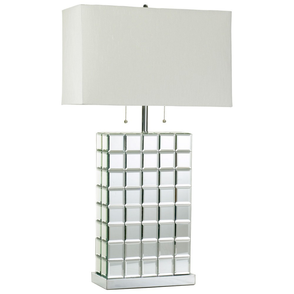 mirrored table lamps photo - 4