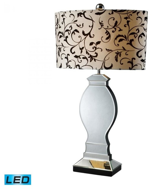 mirrored table lamps photo - 9