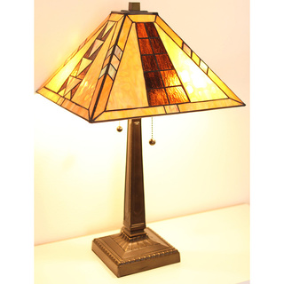 mission style desk lamp photo - 1