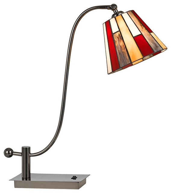 mission style desk lamp photo - 8