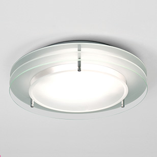 modern bathroom ceiling lights photo - 9