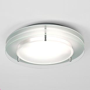 modern bathroom ceiling lights photo - 9