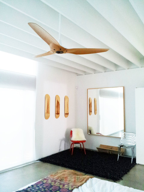 modern bedroom ceiling fans photo - 1