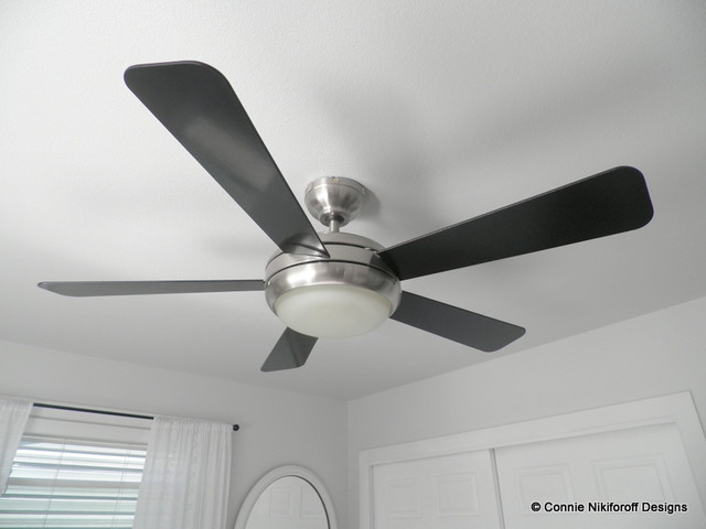 Modern Bedroom Ceiling Fans Photo   2