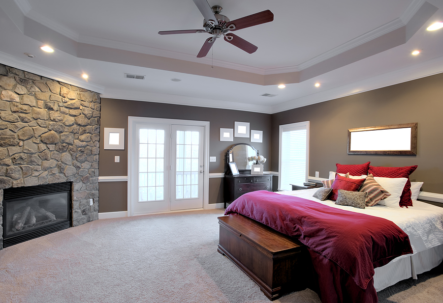 modern bedroom ceiling fans photo - 7