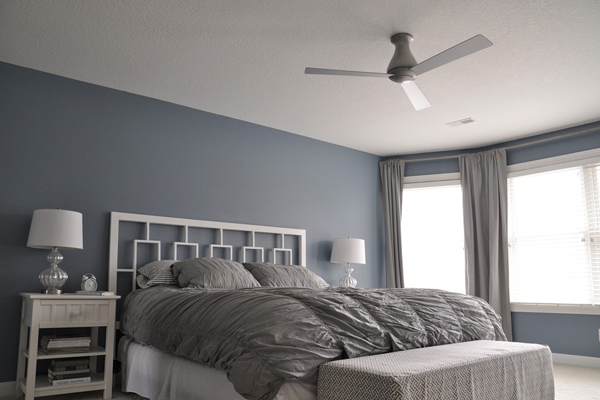 modern bedroom ceiling fans photo - 8