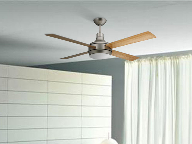 modern bedroom ceiling fans photo - 9