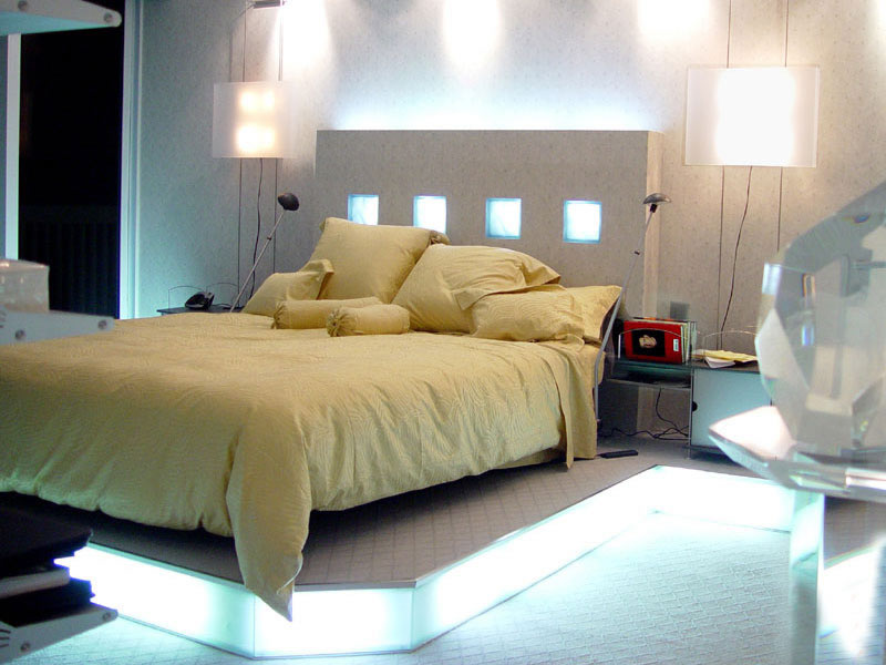 modern bedroom ceiling lights photo - 7