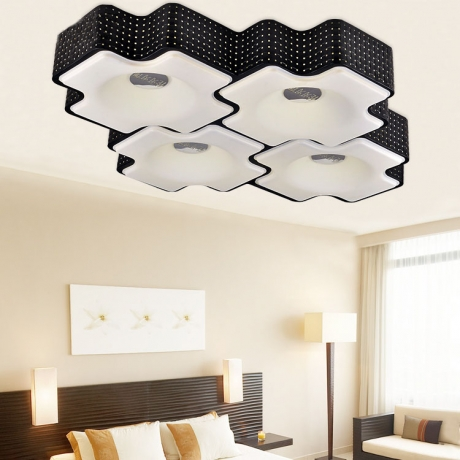 modern bedroom ceiling lights photo - 9