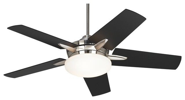 modern black ceiling fans photo - 4
