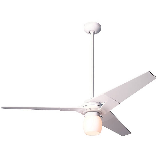 10 adventages of modern ceiling fan light kit warisan lighting - Modern white ceiling fan ...