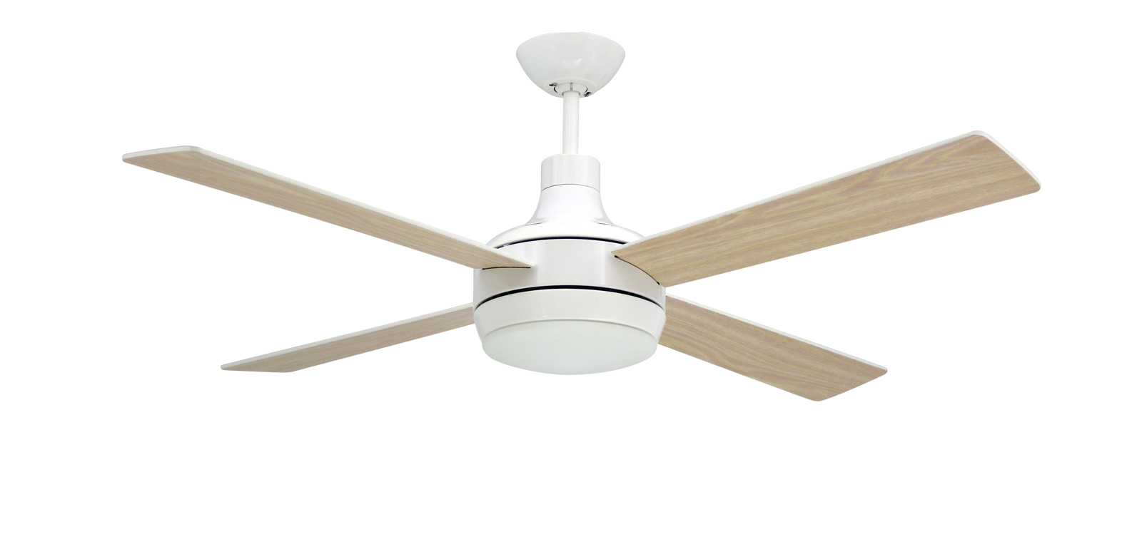 Modern ceiling fan lights add a sophisticated touch to your living space warisan lighting - Modern white ceiling fan ...