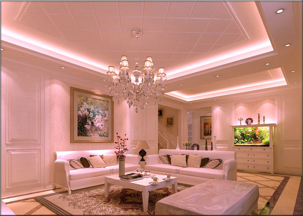 Decorate your living room with Modern ceiling lights living room ...