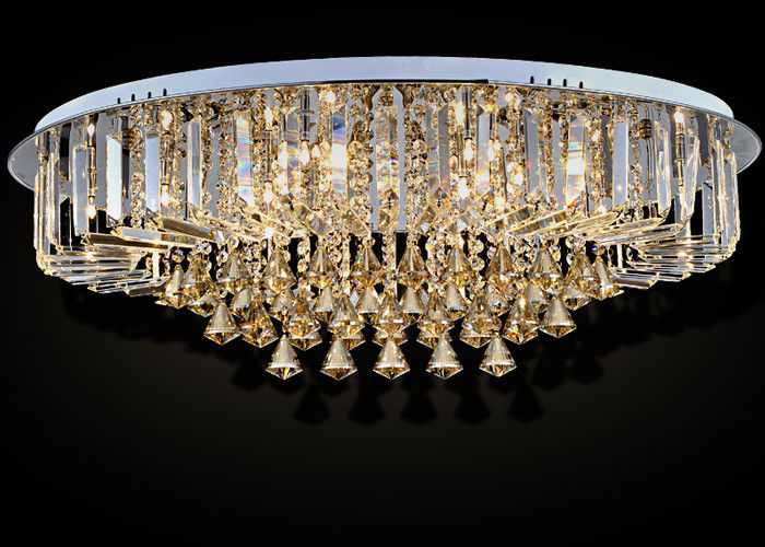 modern crystal ceiling lights photo - 2