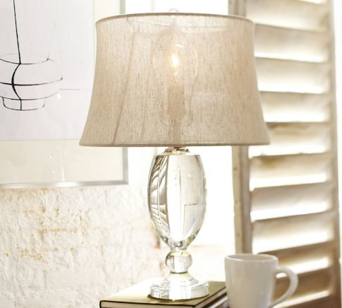 modern crystal table lamps photo - 1