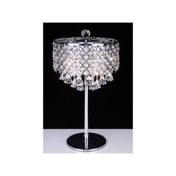 Crystal Chandelier Table Lamps: Modern Crystal Table Lamps