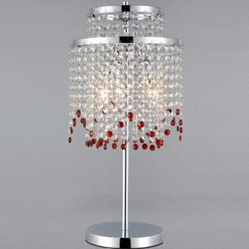 modern crystal table lamps photo - 4