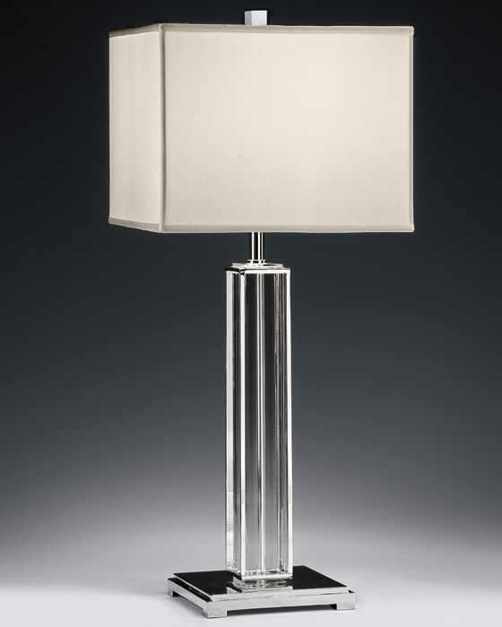 modern crystal table lamps photo - 8