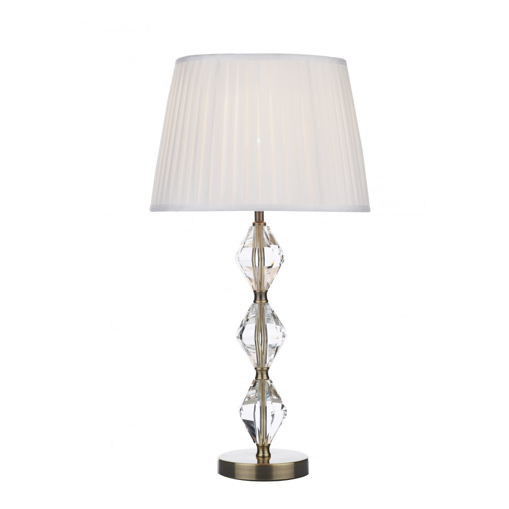 modern crystal table lamps photo - 9
