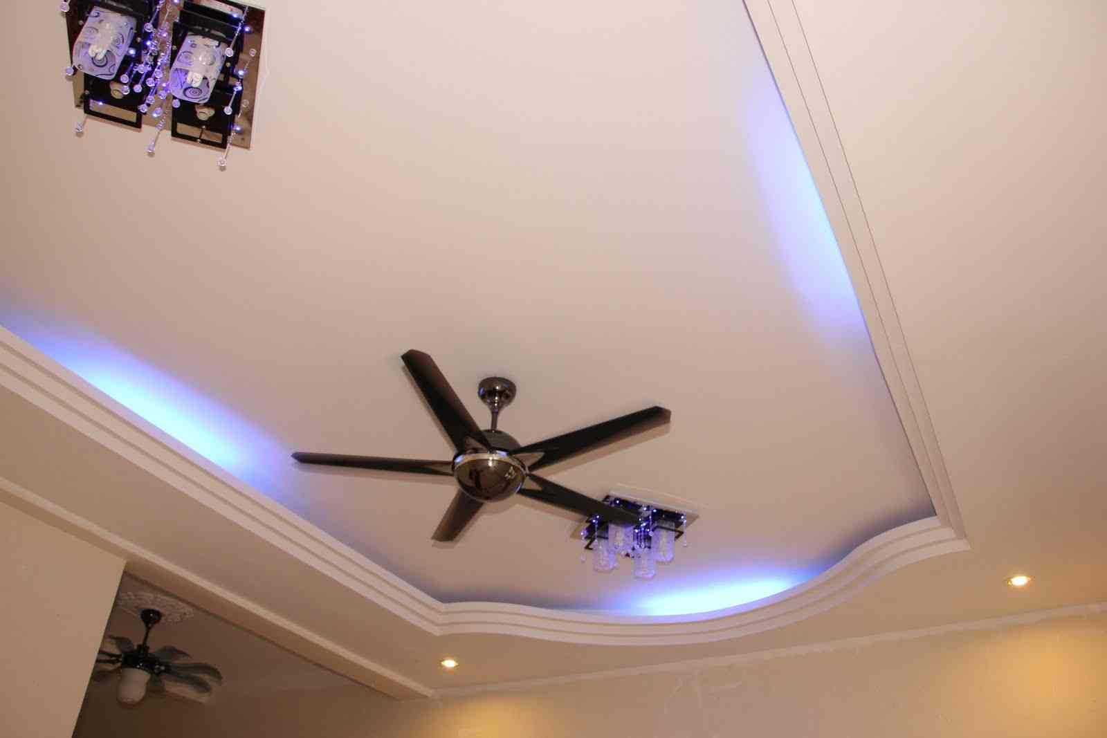 modern dining room ceiling lights photo - 9