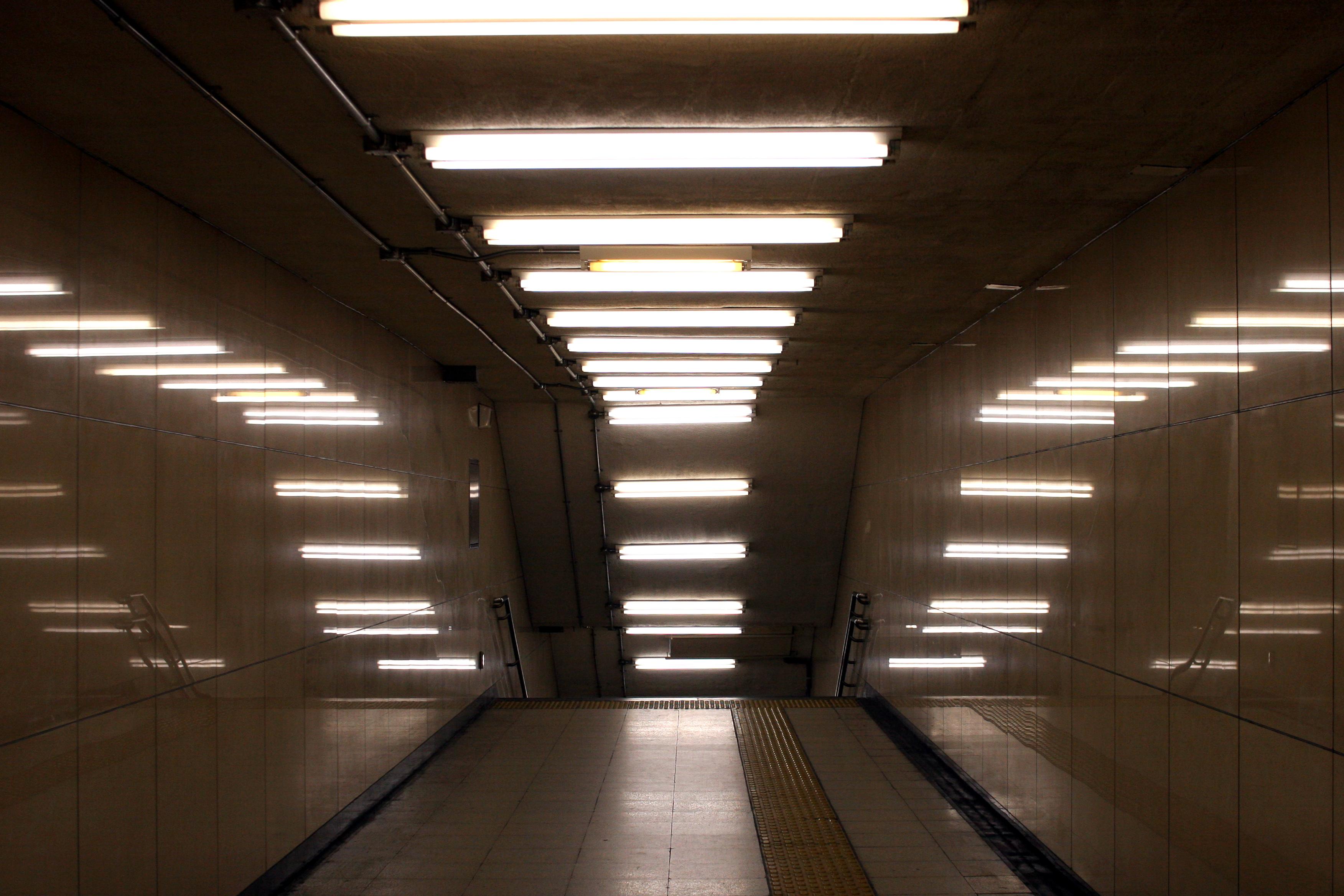 modern fluorescent ceiling lights photo - 1