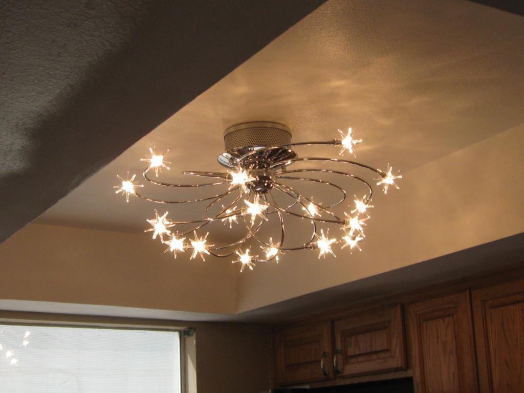 modern fluorescent ceiling lights photo - 10