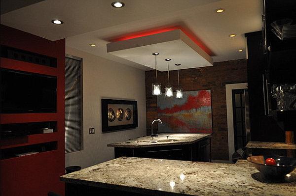 modern fluorescent ceiling lights photo - 9